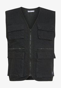 Nominal - HENRY UTILITY VEST - Waistcoat - black - 4