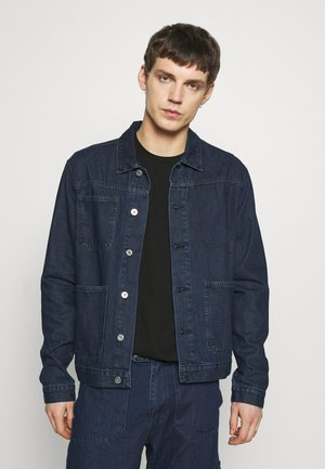 DRAKE WORKET JACKET - Kurtka jeansowa - indigo blue