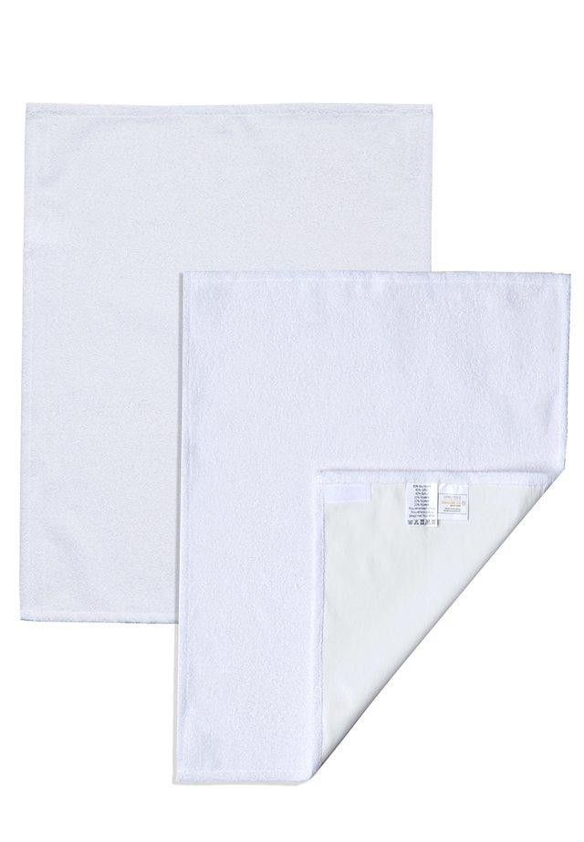 WICKELAUFLAGE WECHSELHANDTUCH SET SMALL - Play mat - white