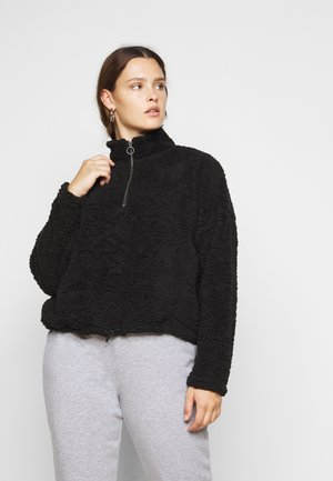 NMLEA TEDDY - Sweatshirt - black
