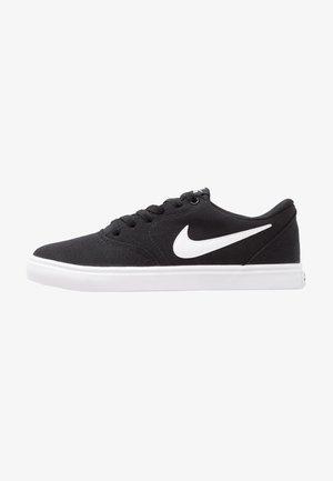 CHECK SOLAR - Sneakersy niskie - black/white/pure platinum