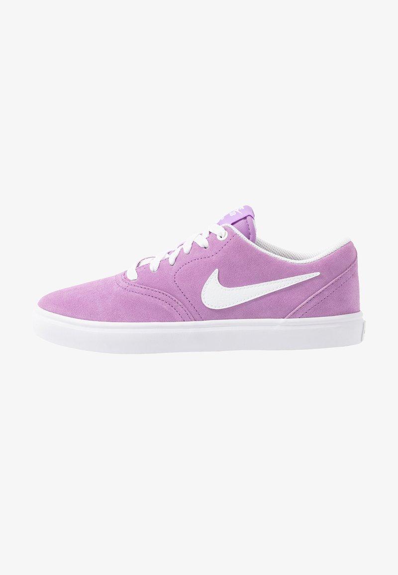 Nike SB - CHECK SOLAR - Sneakers laag - violet star/white