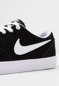 Nike SB - CHECK SOLAR - Sneakers - black/white - 2