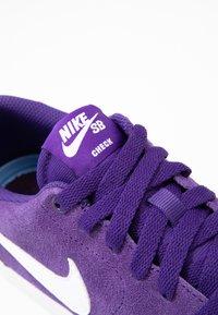 Nike SB - CHECK SOLAR - Sneakers - grand purple / white - 2