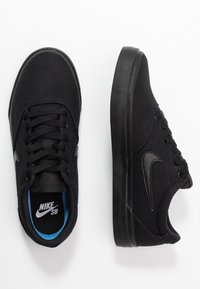 Nike SB - CHARGE - Sneakersy niskie - black - 3