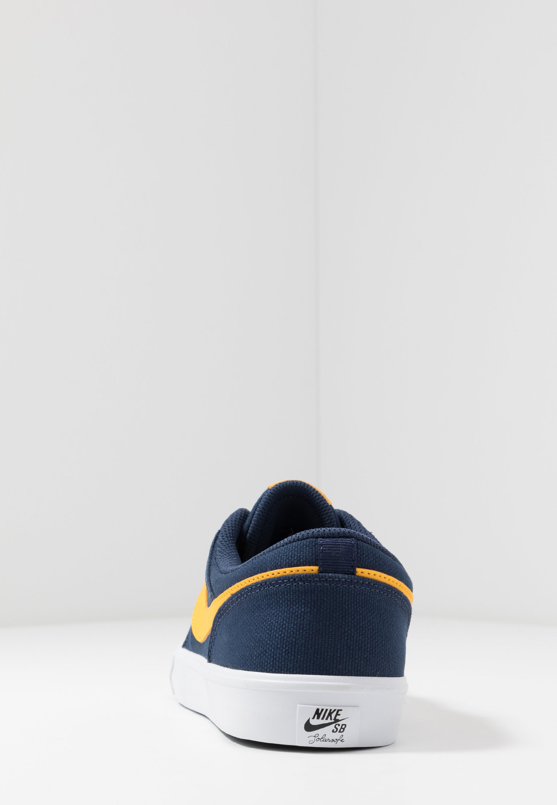 Nike SB PORTMORE II SOLAR - Sneakers - midnight navy/universe gold/white/black