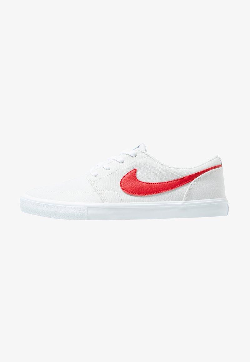 Nike SB - PORTMORE II  - Sneakers - vast grey/university red/white/black