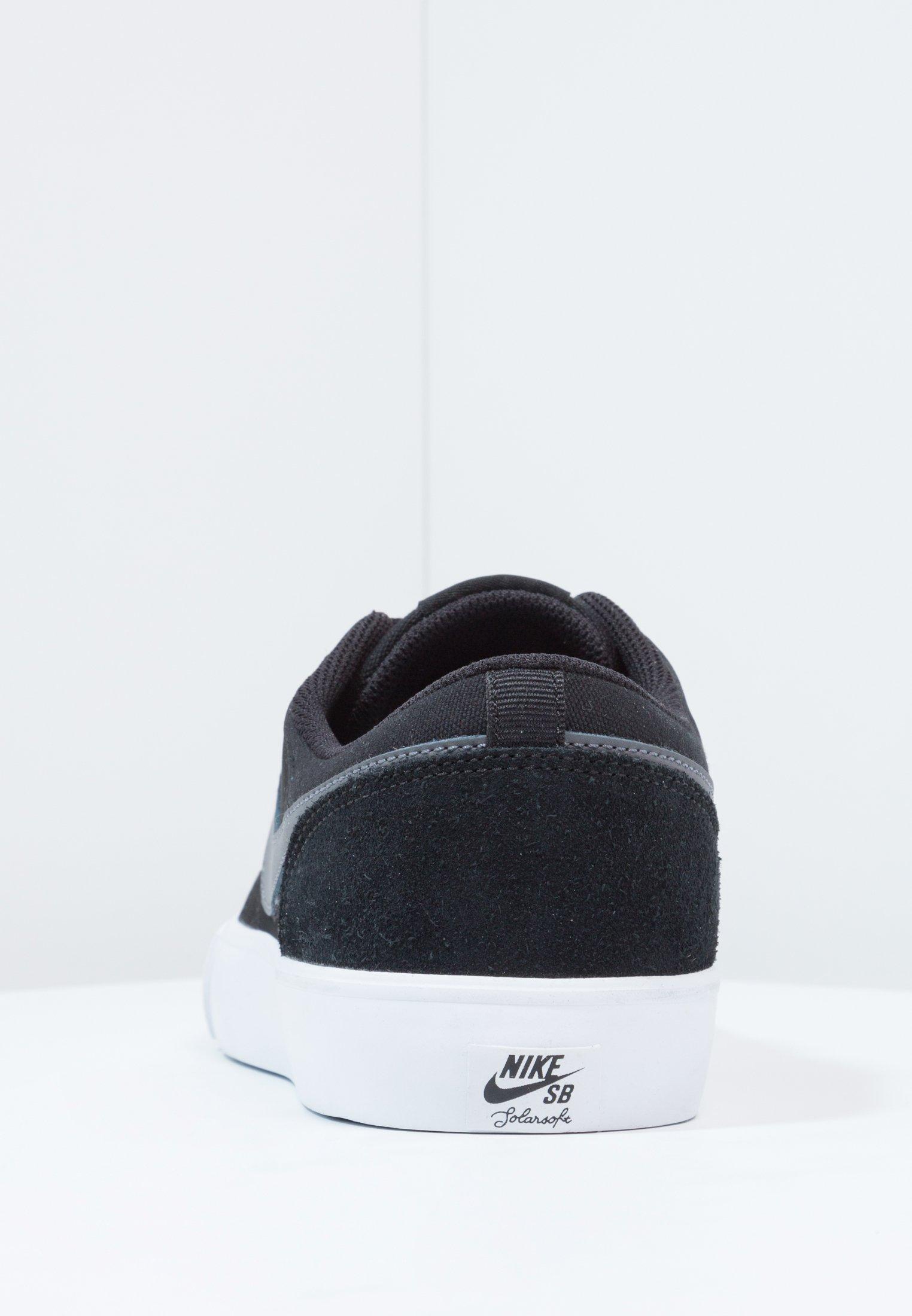 PORTMORE II SOLAR Chaussures de skate blackdark greywhite