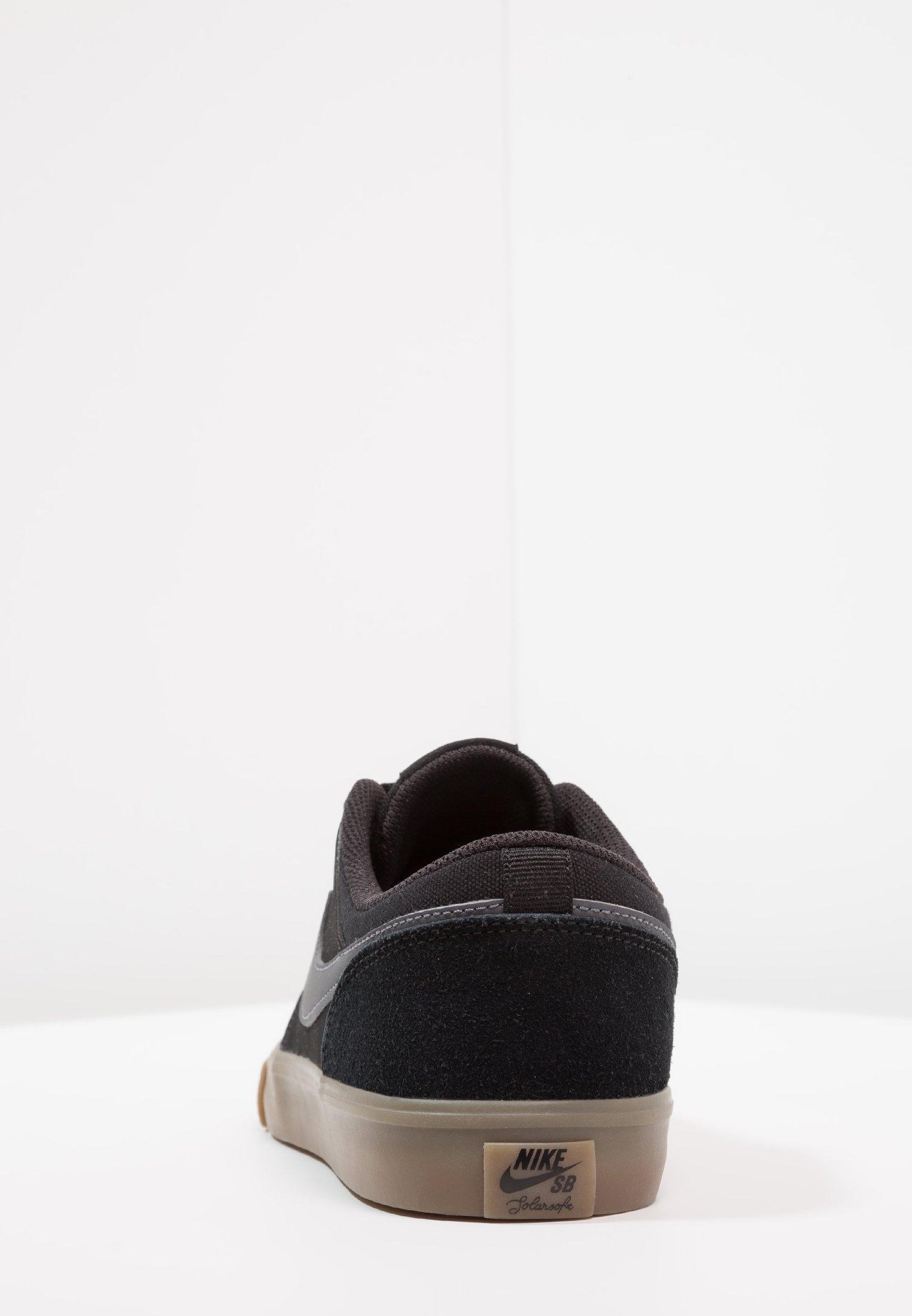 PORTMORE II SOLAR Chaussures de skate blacklight browndark grey
