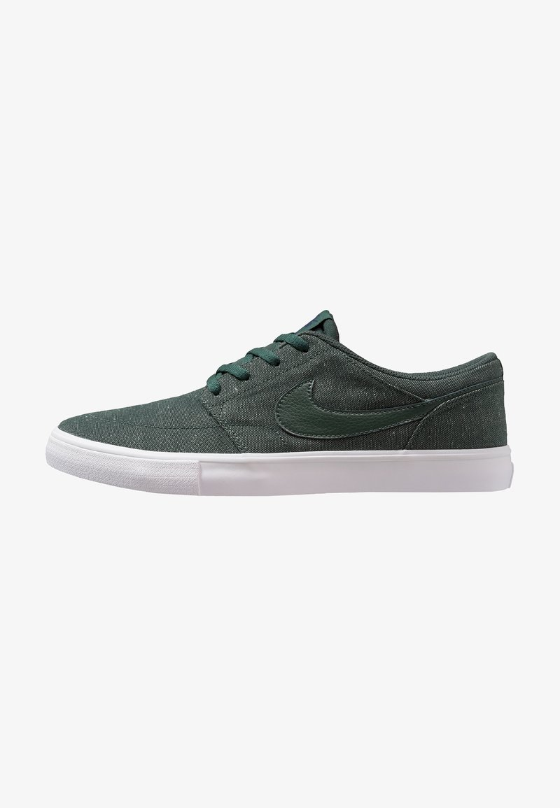 Nike SB - SOLARSOFT PORTMORE II CNVS PREMIUM - Sneakers - midnight green/blue void/white