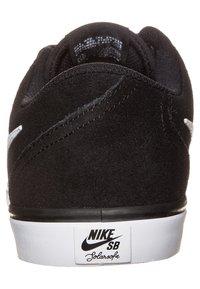 Nike SB - CHECK SOLARSOFT - Sneakers - black/white - 1