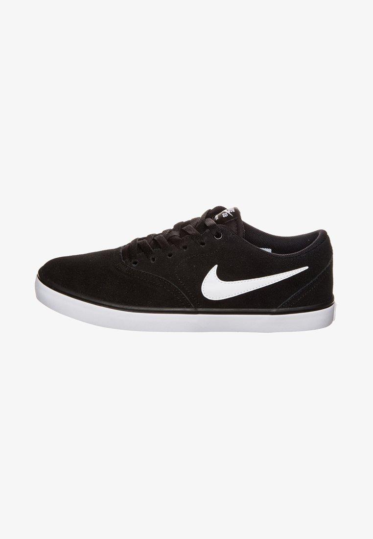 Nike SB - CHECK SOLARSOFT - Sneakers - black/white