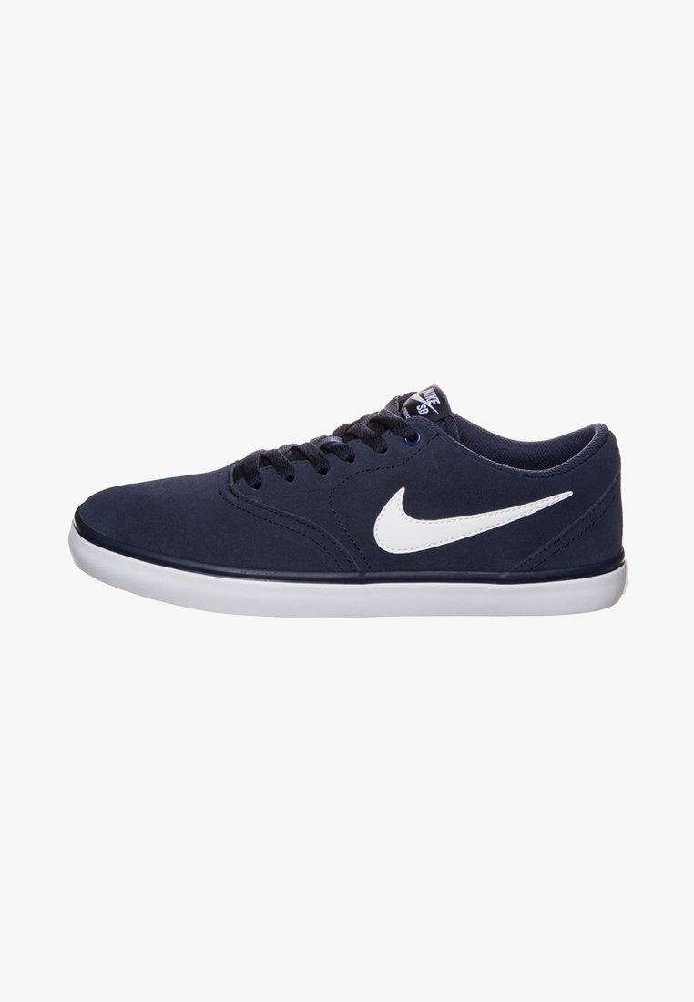 Nike SB - CHECK SOLARSOFT - Sneakers laag - midnight navy/white