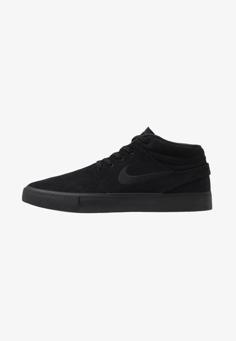 Nike SB - ZOOM JANOSKI MID - Höga sneakers - black/photo blue/hyper pink