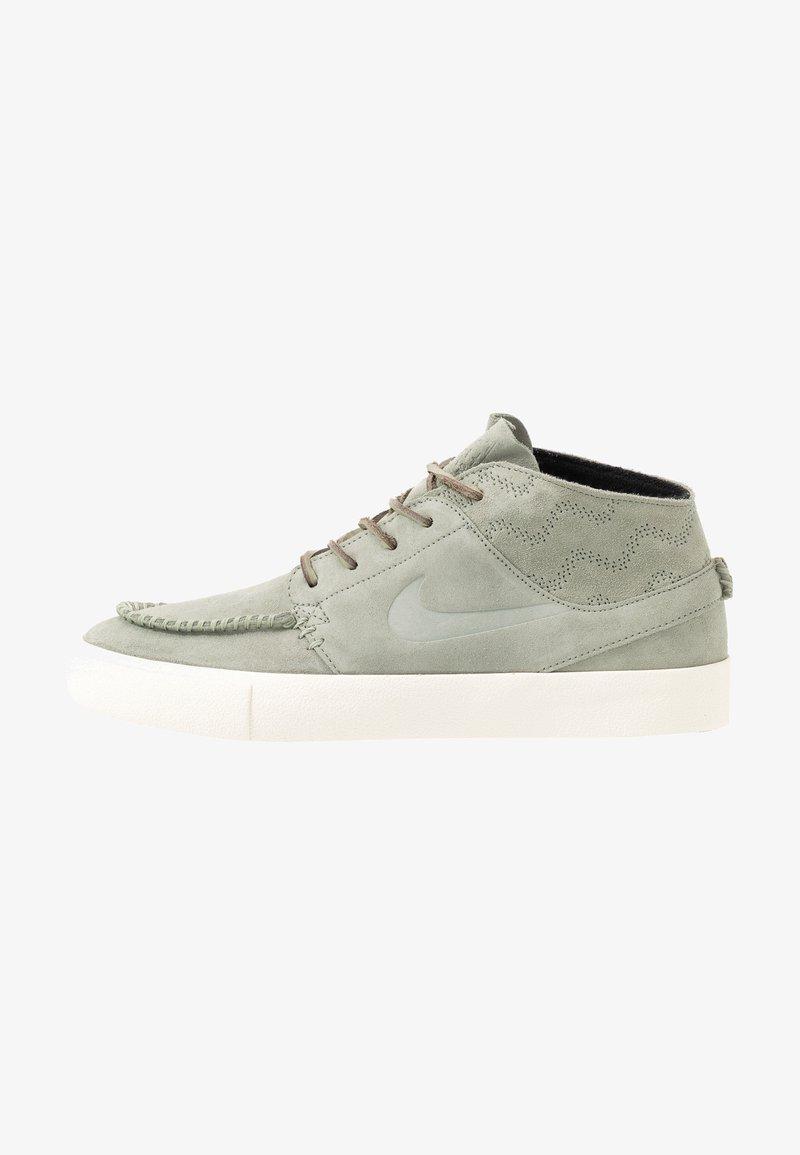 Nike SB - ZOOM JANOSKI MID CRAFTED - Sneakersy wysokie - jade horizon/black/pale ivory