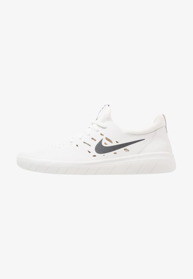 Nike SB - NYJAH FREE - Skateschoenen - summit white/anthracite/lemon wash