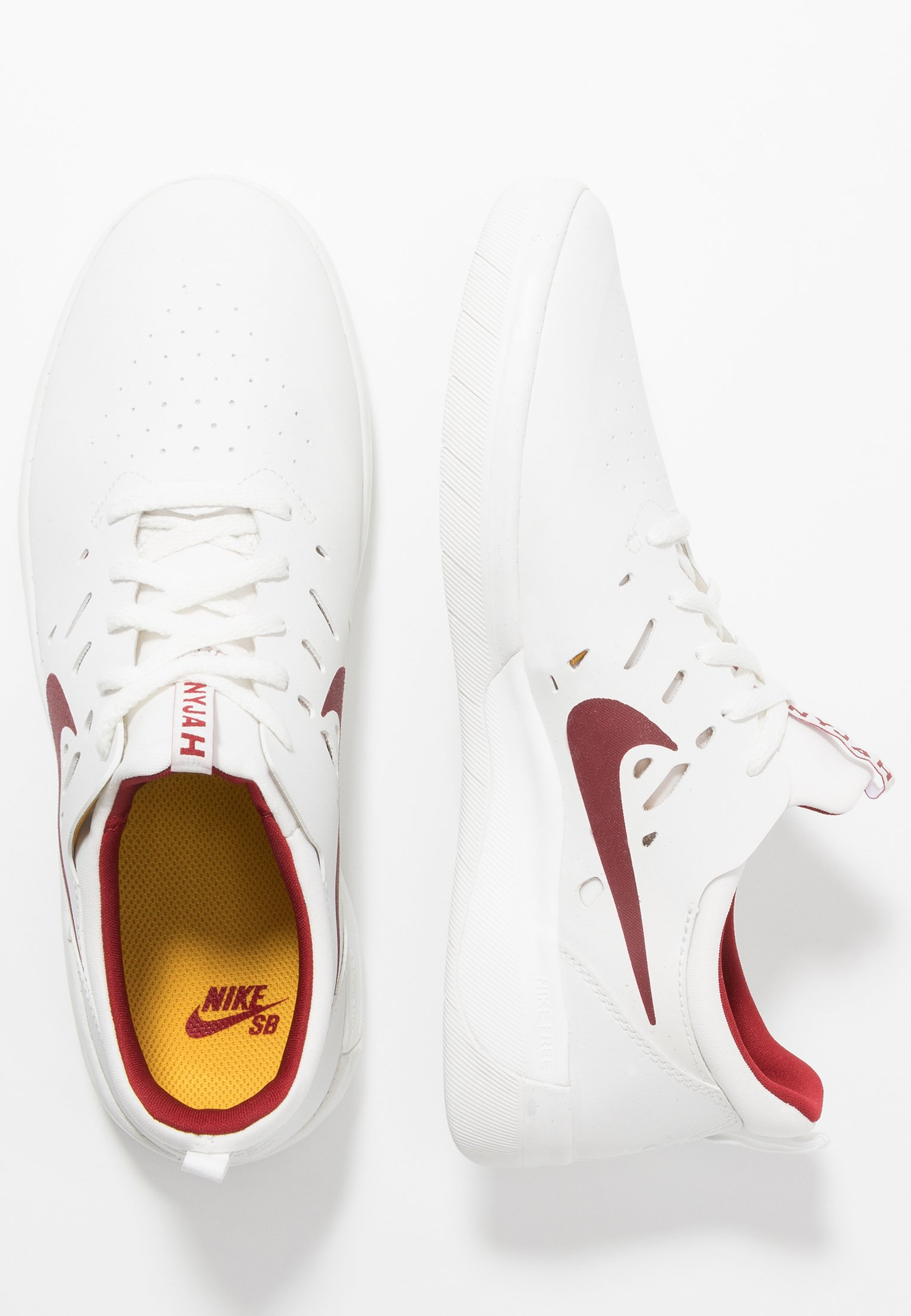 NYJAH FREE Chaussures de skate summit whiteteam crimson