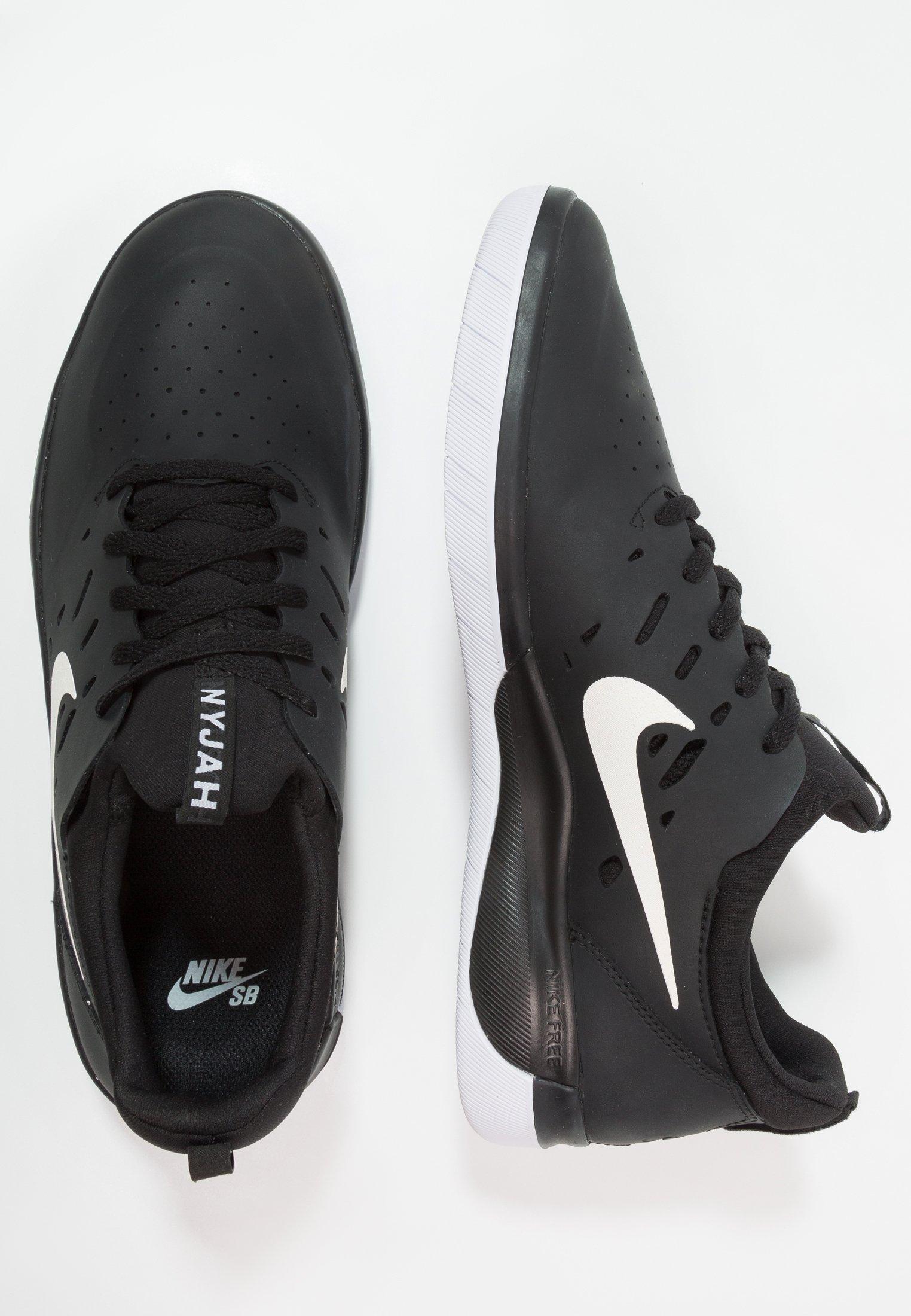 Nike SB NYJAH FREE Skatesko blackwhite Zalando.no