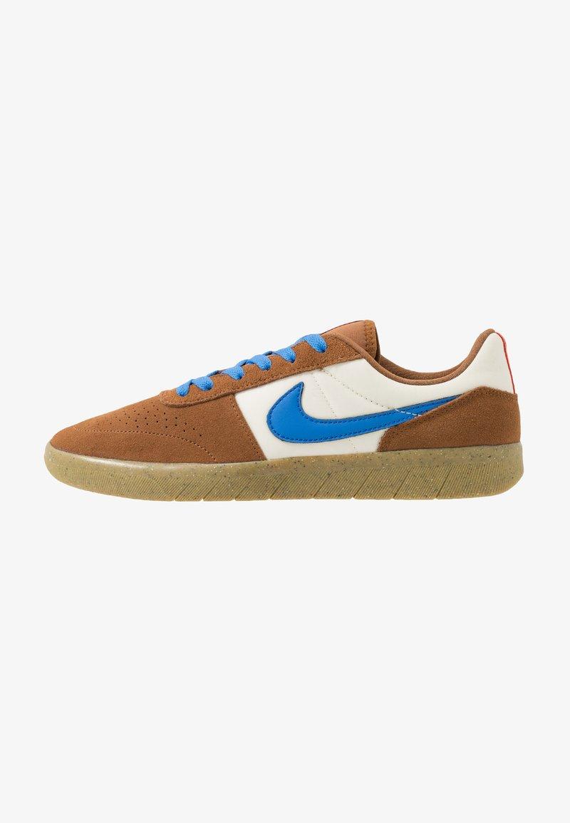 Nike SB - TEAM CLASSIC - Scarpe skate - light british tan/pacific blue/pale ivory/bright crimson/light brown