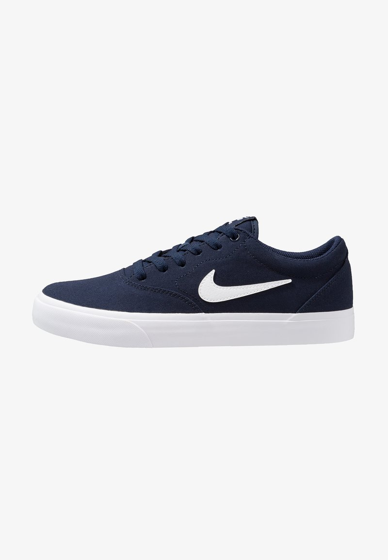 Nike SB - CHARGE  - Baskets basses - obsidian/white