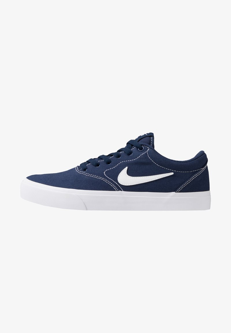 Nike SB - CHARGE  - Baskets basses - midnight navy/white/light brown