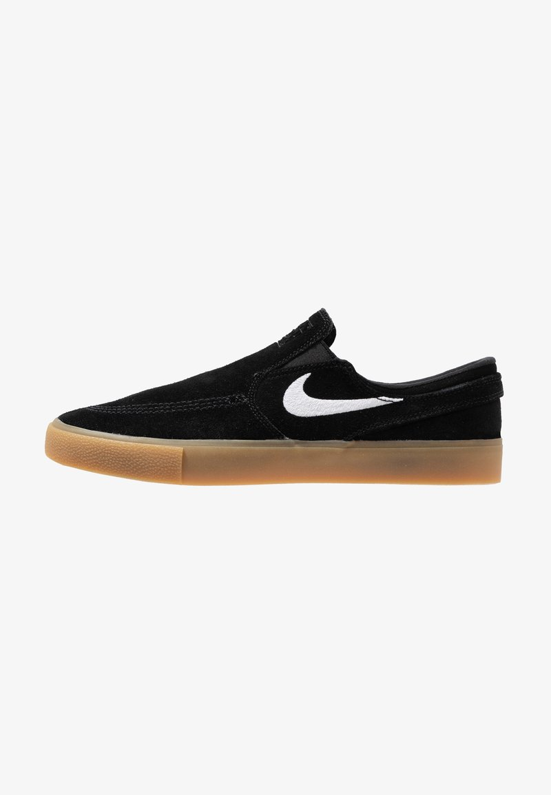 Nike SB - ZOOM JANOSKI - Slip-ons - black/white/black/light brown/photo blue/hyper pink