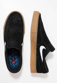 Nike SB - ZOOM JANOSKI - Instappers - black/white/black/light brown/photo blue/hyper pink - 1