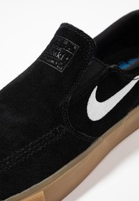 Nike SB - ZOOM JANOSKI - Instappers - black/white/black/light brown/photo blue/hyper pink - 5
