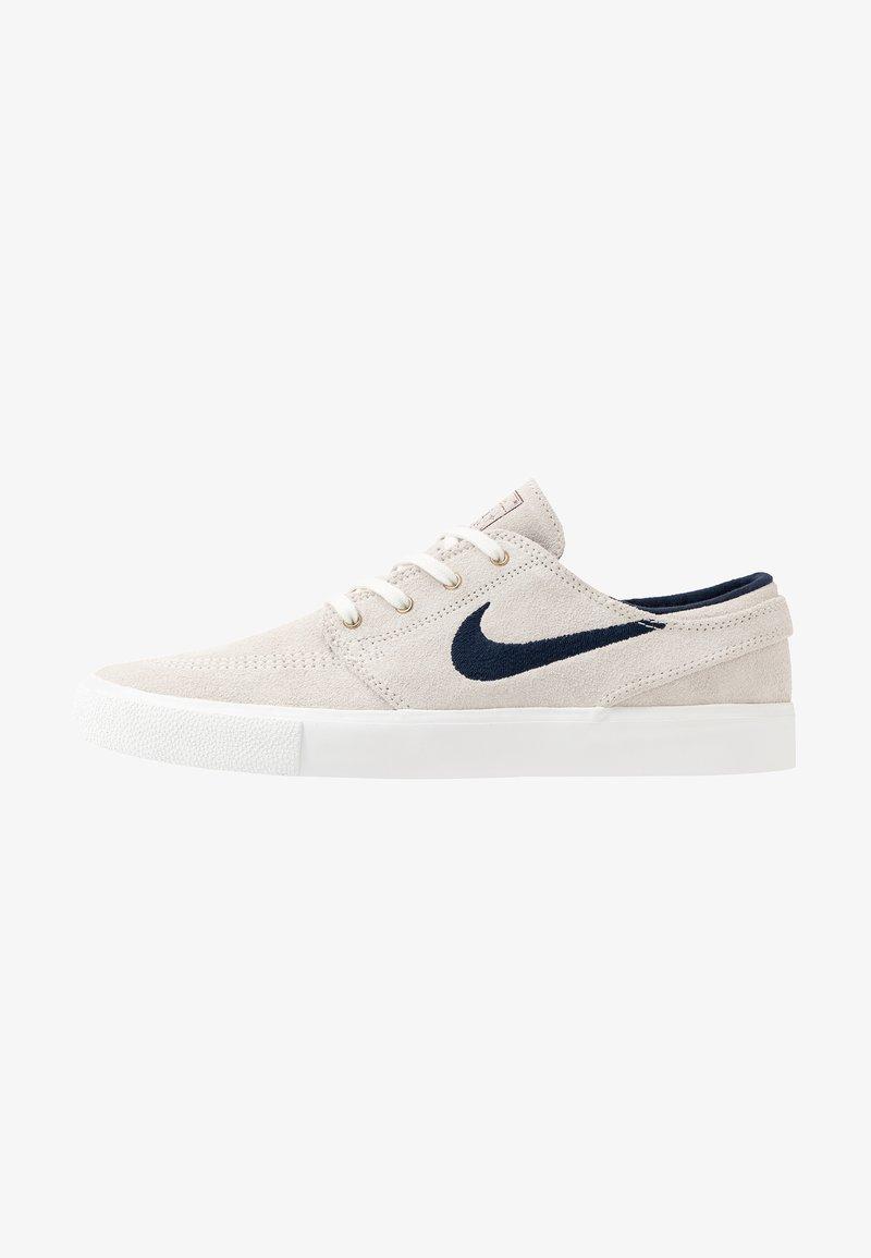 Nike SB - ZOOM JANOSKI - Sneakers laag - summit white/obsidian/team red/light brown
