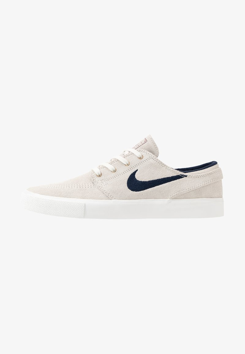 Nike SB - ZOOM JANOSKI - Sneakers laag - summit white/obsidian/team red/light brown