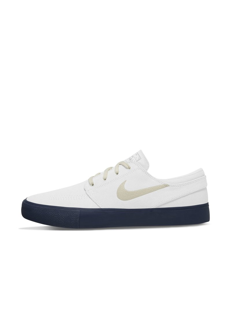 Nike SB - ZOOM JANOSKI - Sneakers laag - summit white/midnight navy/fossil/fossil