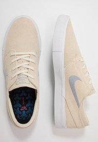 Nike SB - ZOOM JANOSKI - Sneakers laag - fossil/obsidian mist/midnight navy - 1