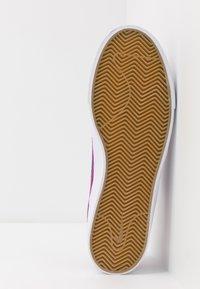 Nike SB - ZOOM JANOSKI - Sneakers laag - vivid purple/laser blue/black/light brown - 4