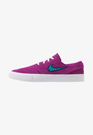 ZOOM JANOSKI - Skateskor - vivid purple/laser blue/black/light brown
