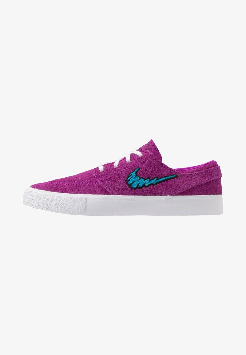 Nike SB - ZOOM JANOSKI - Sneakers laag - vivid purple/laser blue/black/light brown