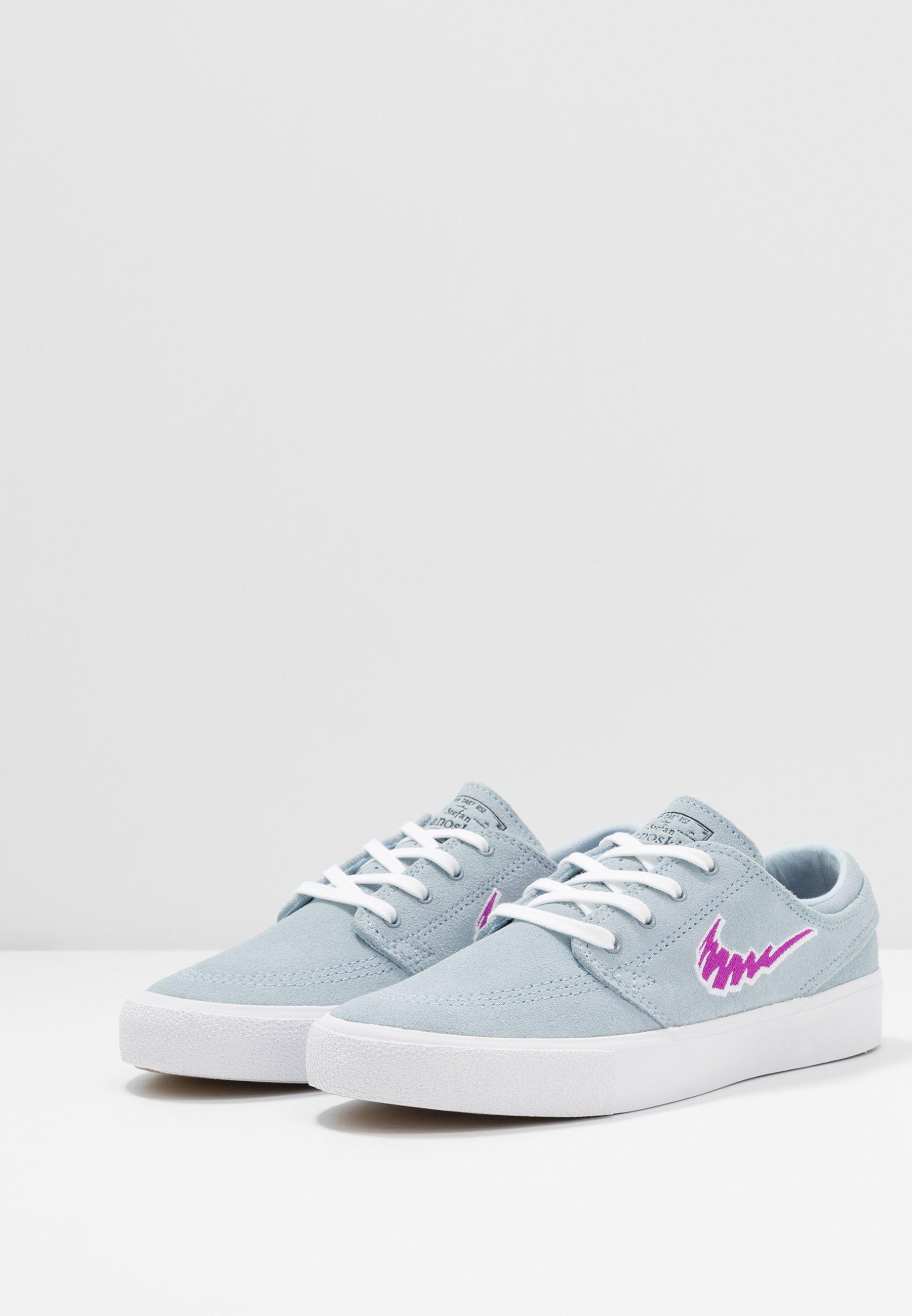 Nike Sb Zoom Janoski - Skateskor Light Armory Blue/vivid Purple/white /light Brown
