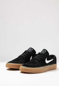 Nike SB - ZOOM JANOSKI - Skate shoes - black/white/light brown/photo blue/hyper pink - 2