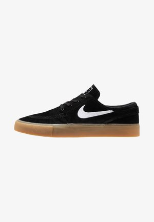ZOOM JANOSKI - Sneakers basse - black/white/light brown/photo blue/hyper pink