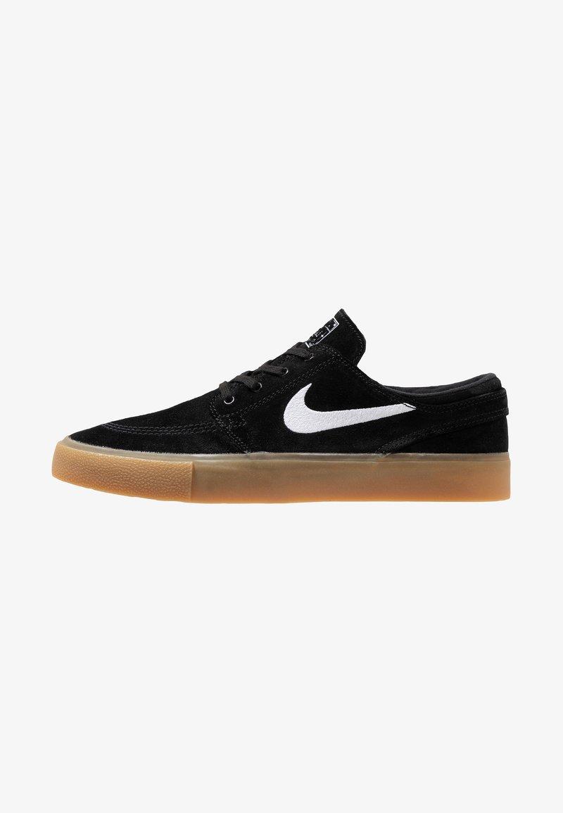 Nike SB - ZOOM JANOSKI - Skate shoes - black/white/light brown/photo blue/hyper pink