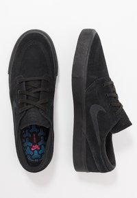 Nike SB - ZOOM JANOSKI - Sneakers laag - black/photo blue/hyper pink - 1