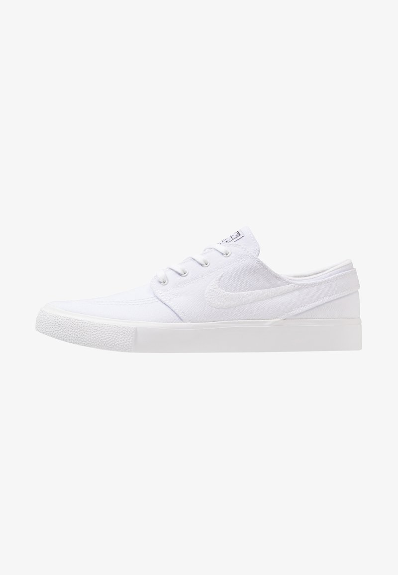 Nike SB - ZOOM JANOSKI - Matalavartiset tennarit - white/light brown/black/photo blue/hyper pink