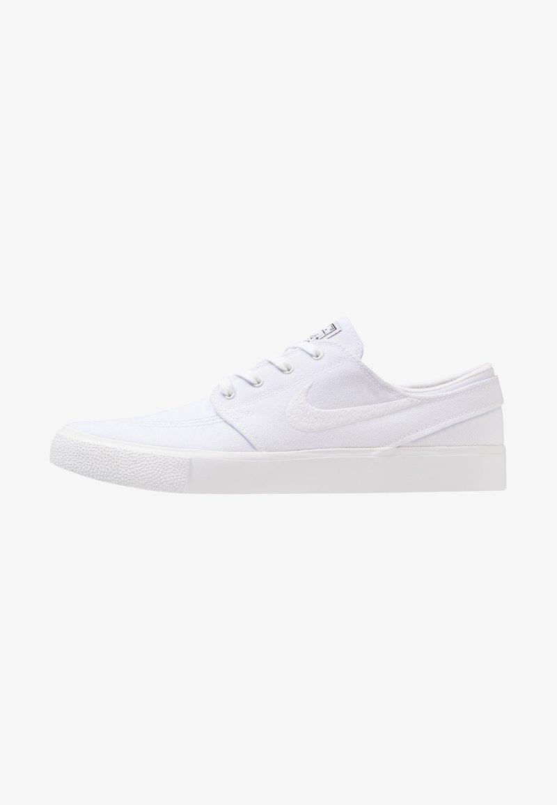 Nike SB - ZOOM JANOSKI - Sneaker low - white/light brown/black/photo blue/hyper pink