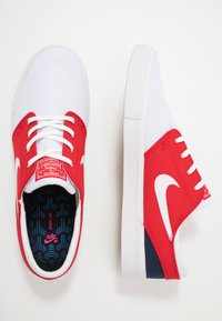 Nike SB - ZOOM JANOSKI - Sneakers laag - white/ red/ blue - 1