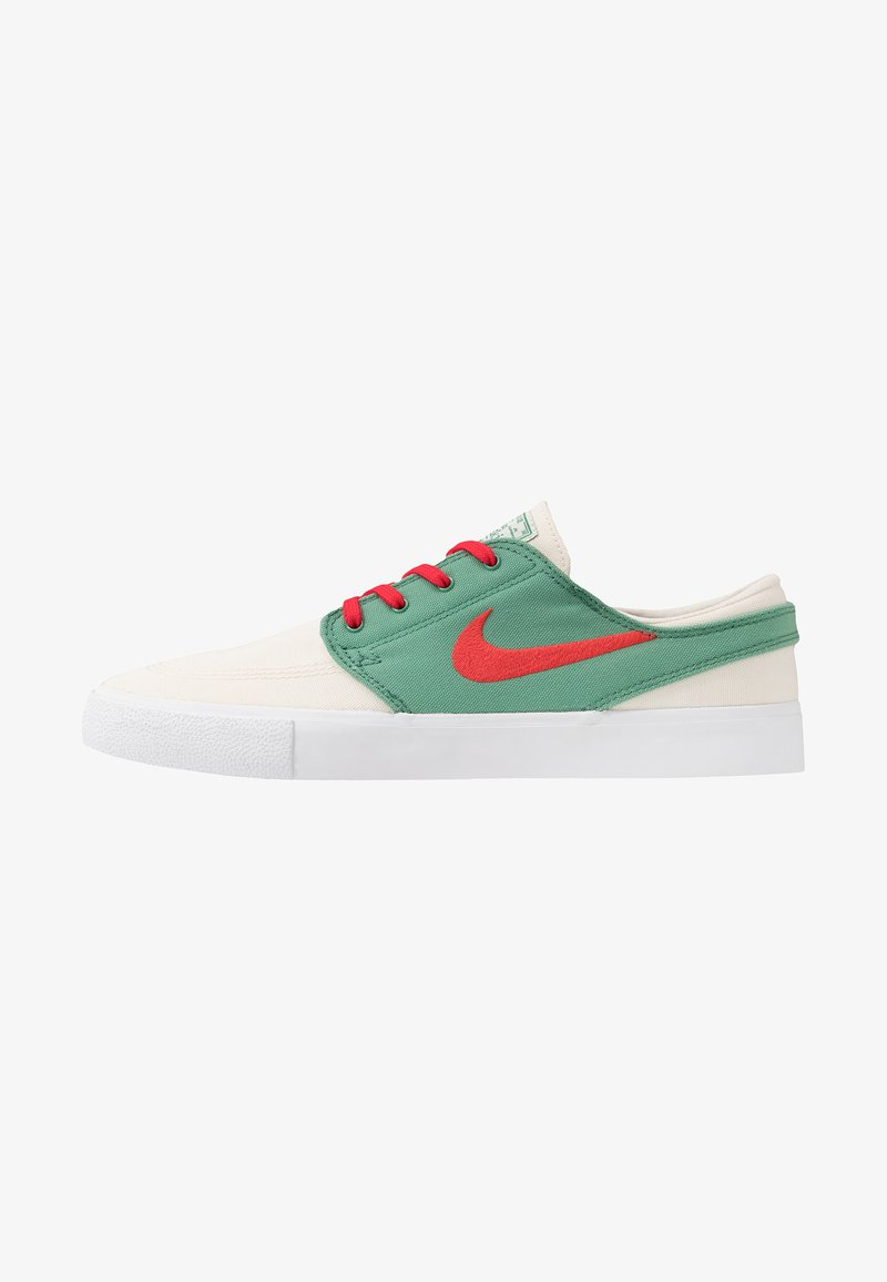 Nike SB - ZOOM JANOSKI - Sneakers laag - pale ivory/atom red/ever green/white