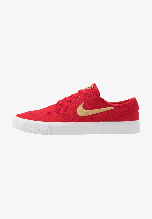 ZOOM JANOSKI - Matalavartiset tennarit - university red/club gold/black/white