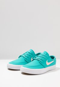 Nike SB - ZOOM JANOSKI - Sneakers laag - cabana/pink tint/white/light brown