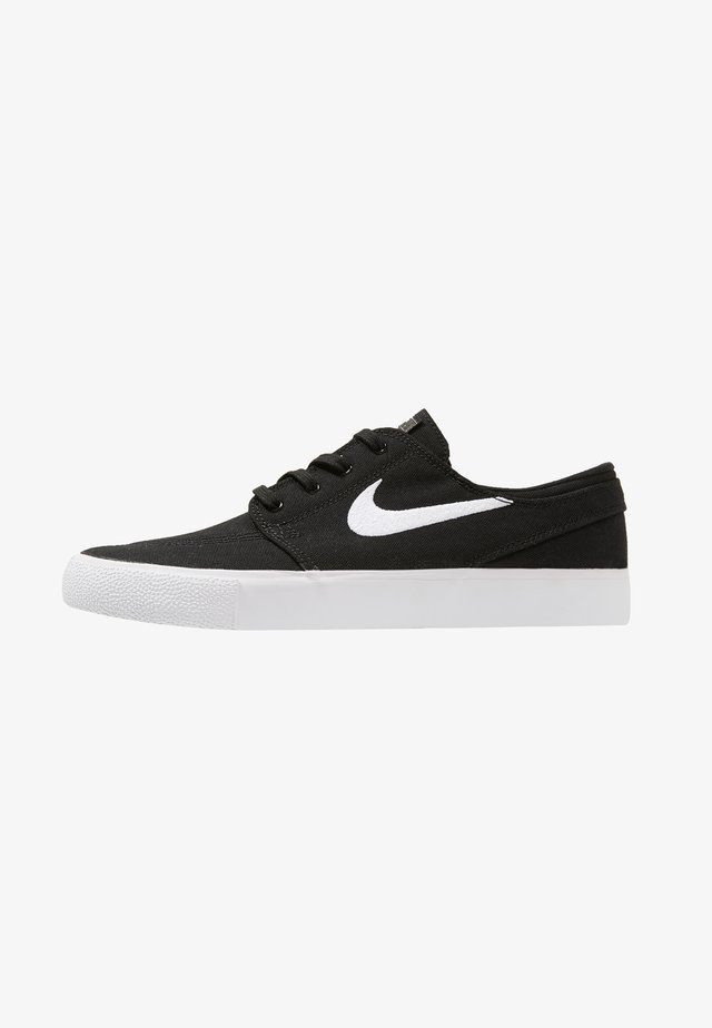 ZOOM JANOSKI - Matalavartiset tennarit - black/white
