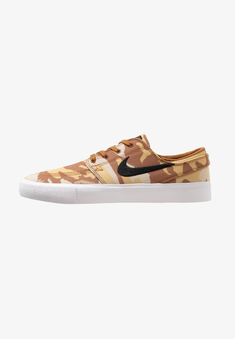 Nike SB - ZOOM JANOSKI PRM - Tenisky - parachute beige/black/ale brown/white/light brown