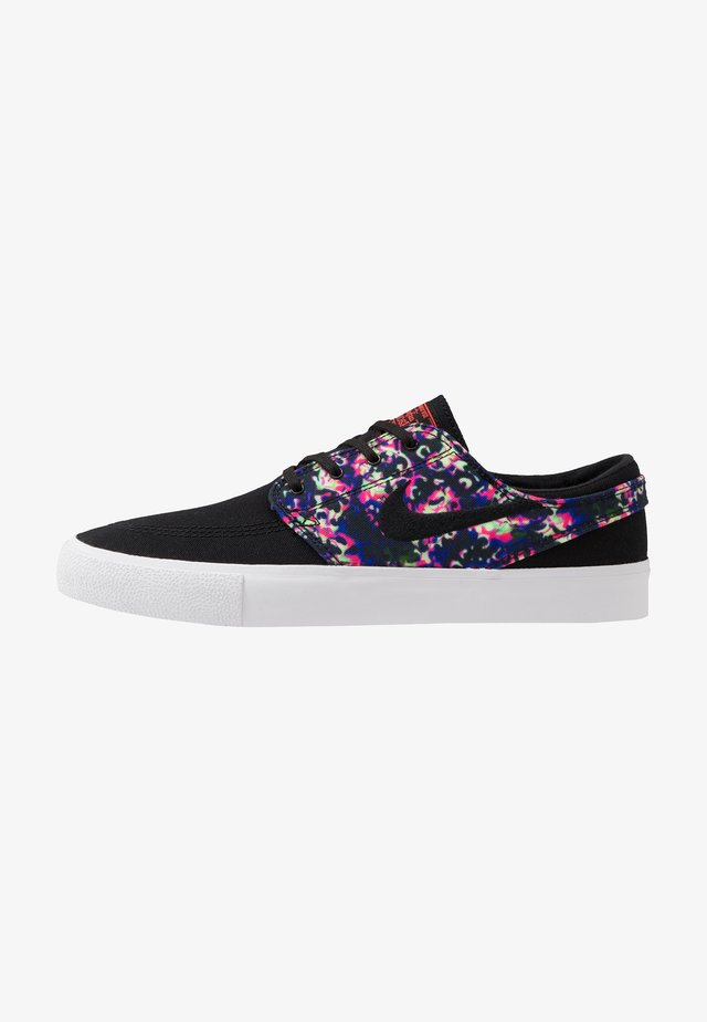 ZOOM JANOSKI PRM - Matalavartiset tennarit - black/laser crimson