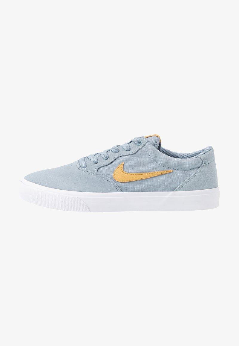 Nike SB - CHRON SLR - Sneakers laag - obsidian mist/club gold/white